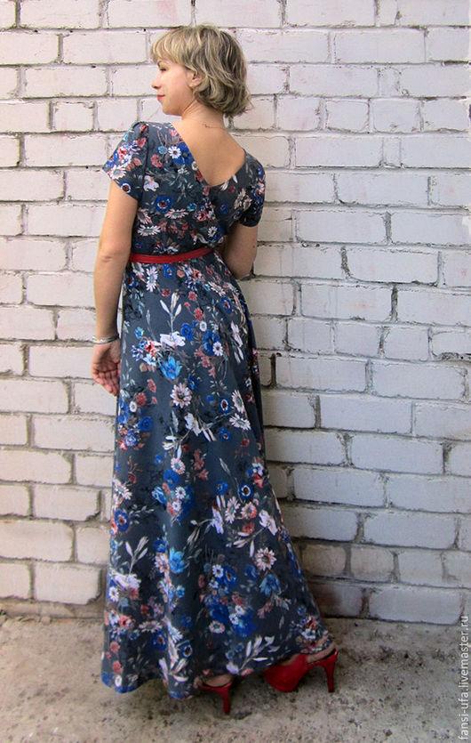 Платья ручной работы. Ярмарка Мастеров - ручная работа. Купить Романтика. Handmade. Черный, платье из штапеля