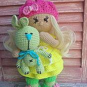 Куклы и игрушки ручной работы. Ярмарка Мастеров - ручная работа Куколка Лия. Handmade.