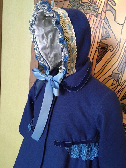 Одежда для девочек, ручной работы. Ярмарка Мастеров - ручная работа. Купить Пальто для романтичной малышки. Handmade. Пальто, атлас хлопок+вискоза