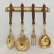 Винтаж ручной работы. Ярмарка Мастеров - ручная работа Кухонный набор бронза латунь Германия 6. Handmade.