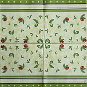 Материалы для творчества handmade. Livemaster - original item 12pcs napkins for decoupage green olives black olives. Handmade.