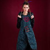 Одежда ручной работы. Ярмарка Мастеров - ручная работа Пальто без рукавов Mongol. Handmade.