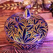 Посуда ручной работы. Ярмарка Мастеров - ручная работа Сахарница, конфетница - синяя тайна. Handmade.