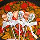 """Ложки ручной работы. Ярмарка Мастеров - ручная работа. Купить Вкусные ложечки """"Вафли"""". Handmade. Комбинированный, Декор, вкусные ложки"""