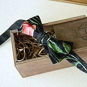 Аксессуары handmade. Livemaster - original item Tie silk / samosas. Handmade.