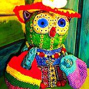 """Куклы и игрушки ручной работы. Ярмарка Мастеров - ручная работа Фигурка """"А кто со мной по магазинам?"""".. Handmade."""