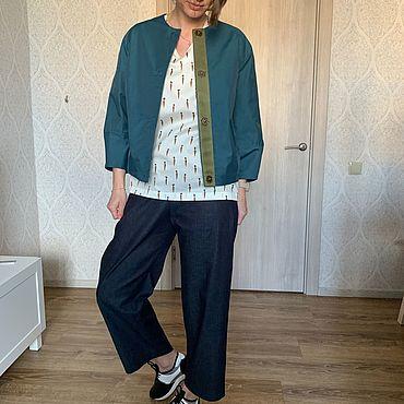 Одежда ручной работы. Ярмарка Мастеров - ручная работа Куртка в стиле 90-х. Handmade.