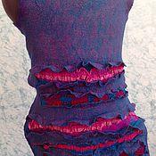 Одежда ручной работы. Ярмарка Мастеров - ручная работа Валяный жилет туника Ты единственная. Handmade.