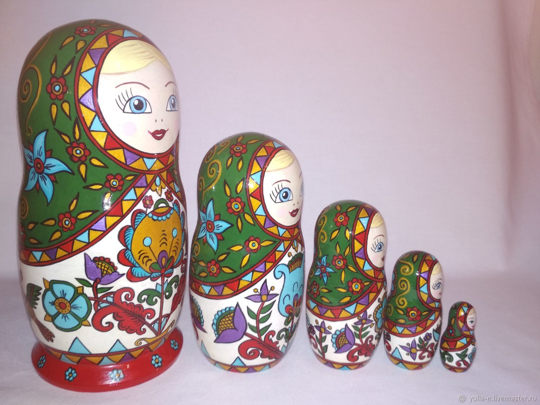 Матрёшка 5 мест в Северодвинском стиле, Матрешки, Рязань,  Фото №1