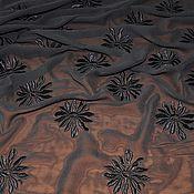 """Ткани ручной работы. Ярмарка Мастеров - ручная работа Шифон с вышивкой """"M.Burani"""". Handmade."""