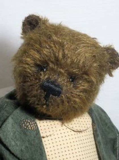 """Винтажные куклы и игрушки. Ярмарка Мастеров - ручная работа. Купить """"Денди"""" мишка тедди в костюме, винтаж. Handmade. Мишка тедди"""