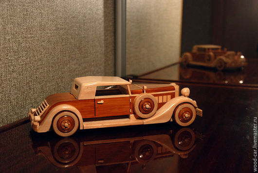 Подарки для мужчин, ручной работы. Ярмарка Мастеров - ручная работа. Купить Сигаретница-автомобиль. Handmade. Коричневый, автомобиль, деревянный, шкатулка