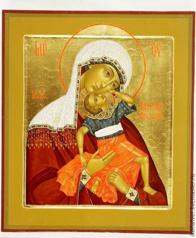 образ Пр.Богородицы Взыграние Младенца