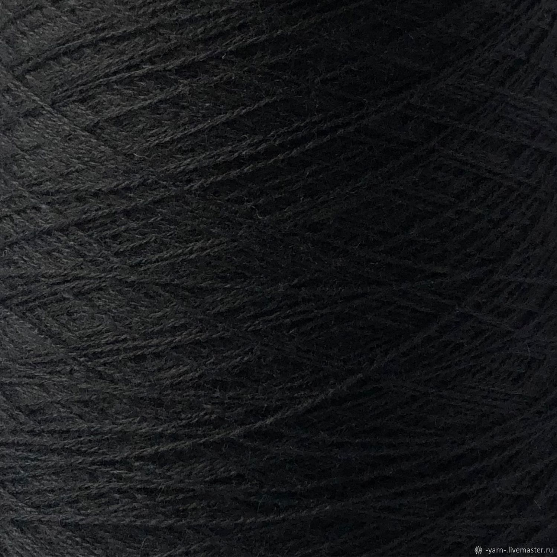 Пряжа Кашемир 2/28 черный – купить на Ярмарке Мастеров – MRFN6RU | Пряжа, Санкт-Петербург
