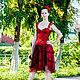 Платья ручной работы. Платье Lady in Red,вечернее платье.... ANGEL & CHRIS (Анна Асатрян). Интернет-магазин Ярмарка Мастеров.