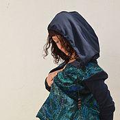 "Одежда ручной работы. Ярмарка Мастеров - ручная работа Куртка валяная ""Два сердца"". Handmade."