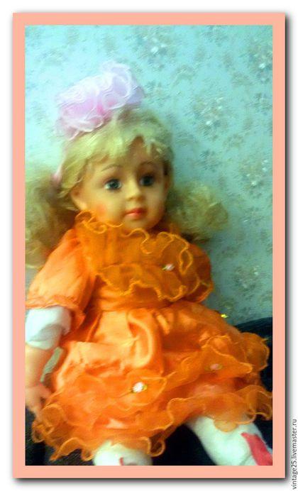 Винтажные куклы и игрушки. Заказать Кукла Карина. Винтаж 50 см. Чердак старого дома (vintage25). Ярмарка Мастеров. резина