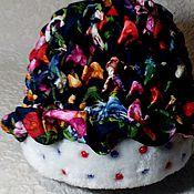 Аксессуары ручной работы. Ярмарка Мастеров - ручная работа Зимняя  женская шапка. Handmade.
