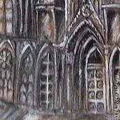 """Аксессуары ручной работы. Ярмарка Мастеров - ручная работа Галстук """"Реймский собор"""". Handmade."""