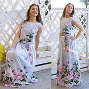 Платье в пол Беатрис / длинное платье / летнее платье