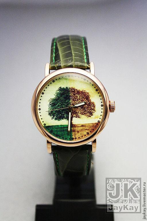 """Часы ручной работы. Ярмарка Мастеров - ручная работа. Купить Часы наручные JK """"Дерево"""". Handmade. Наручные часы"""