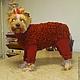 """Одежда для собак, ручной работы. Ярмарка Мастеров - ручная работа. Купить Одежда для собак. Вязаная шубка """"Барашек"""". Handmade. сиреневый"""