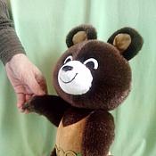 Куклы и игрушки ручной работы. Ярмарка Мастеров - ручная работа Олимпийский Мишка, Олимпиада 1980, мишка тедди. Handmade.