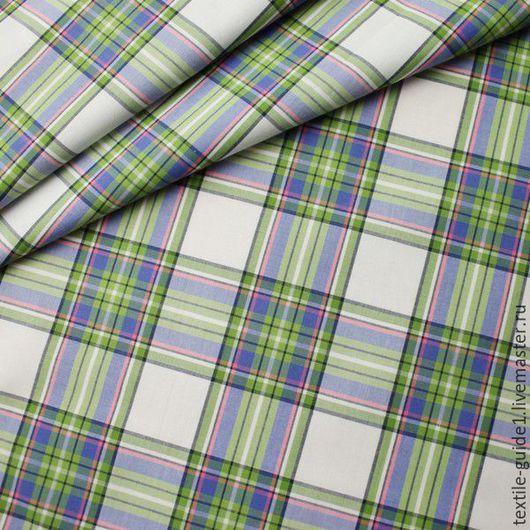 Шитье ручной работы. Ярмарка Мастеров - ручная работа. Купить Ткань сорочечная Германия 9034690. Handmade. Комбинированный, хлопок