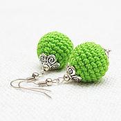 Украшения handmade. Livemaster - original item Earrings-beads - any color on order. Handmade.