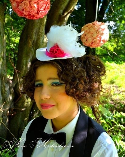 Шляпы ручной работы. Ярмарка Мастеров - ручная работа. Купить Шляпки для особых случаев. Белый. На заказ или аренда.. Handmade.