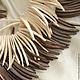 Для украшений ручной работы. СТИКИ КОРИЧНЕВЫЕ бусины натуральный кокос крупные. Естественная красота бусин (Ирина). Ярмарка Мастеров.