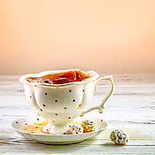 Посуда handmade. Livemaster - original item Dreamy tea party... Pottery handmade. Handmade.