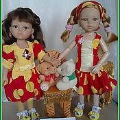 Куклы и игрушки ручной работы. Ярмарка Мастеров - ручная работа Кукольные платья на кукол Паула Рейна и им подобные.. Handmade.