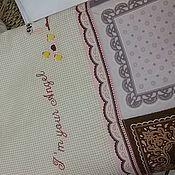 """Для дома и интерьера ручной работы. Ярмарка Мастеров - ручная работа Комплект в кроватку """"Совушки"""". Handmade."""