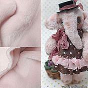 Материалы для творчества ручной работы. Ярмарка Мастеров - ручная работа Итальянский искусственный мех, 4 мм Розовая дымка. Handmade.