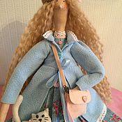 Куклы и игрушки ручной работы. Ярмарка Мастеров - ручная работа Кукла Тильда игровая Виктория. Handmade.