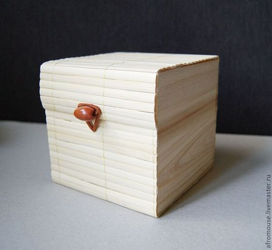 коробочка 10х10 светлый бамбук