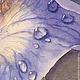 Картины цветов ручной работы. Ирис после дождя. Екатерина Логвиненко. Интернет-магазин Ярмарка Мастеров. Цветы, цветок, ирис