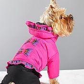 Одежда для питомцев ручной работы. Ярмарка Мастеров - ручная работа Комбинезон для собаки Шотландка. Handmade.