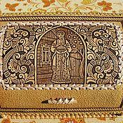 Для дома и интерьера handmade. Livemaster - original item Bread box of birch bark