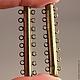 Магнитная замок застежка типа Слайдер для бижутерийных украшений на 8 нитей бус или бисера цвета бронзы\r\nКолечки могут быть припаяны несколько асимметрично