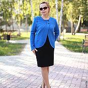 "Одежда handmade. Livemaster - original item Knitted suit ""style costume in the big city-2"". Handmade."