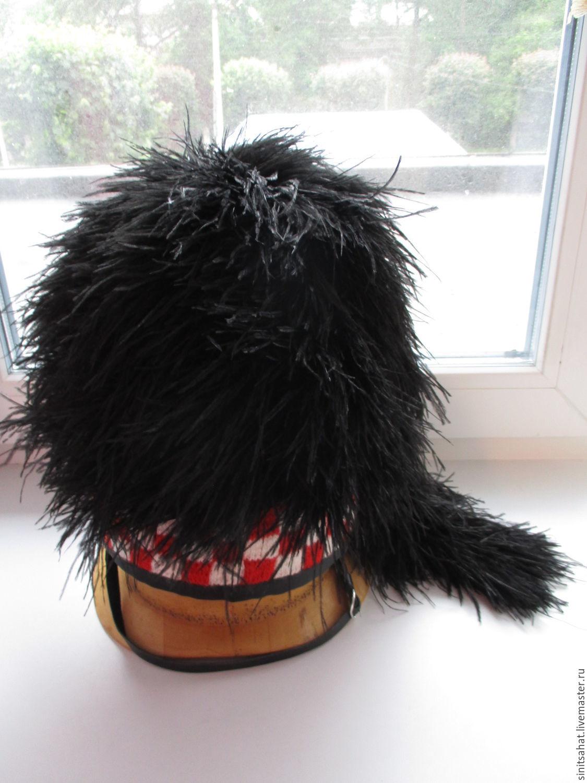 Feather bonnet (Шотландская перьевая шапка), Шляпы, Череповец, Фото №1
