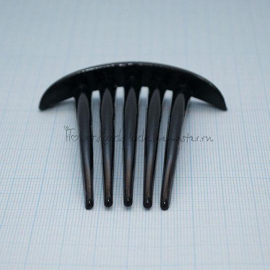Для украшений ручной работы. Ярмарка Мастеров - ручная работа. Купить Ф088 Основа для гребня с 5-ю зубьями. Handmade.