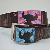 Аксессуары handmade. Livemaster - original item JAMIROQUAI strap leather. Handmade.