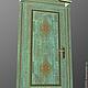 Мебель ручной работы. Ярмарка Мастеров - ручная работа. Купить Дверь в Русском стиле. Handmade. Бирюзовый, золото, в русском стиле