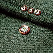 Одежда ручной работы. Ярмарка Мастеров - ручная работа Жакет Изумрудный. Handmade.