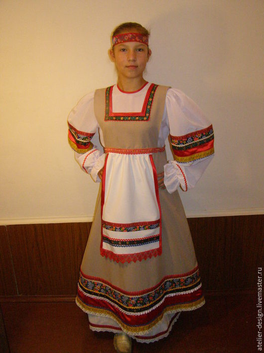 Одежда ручной работы. Ярмарка Мастеров - ручная работа. Купить Русский народный  костюм. Handmade. Русский костюм, народный костюм