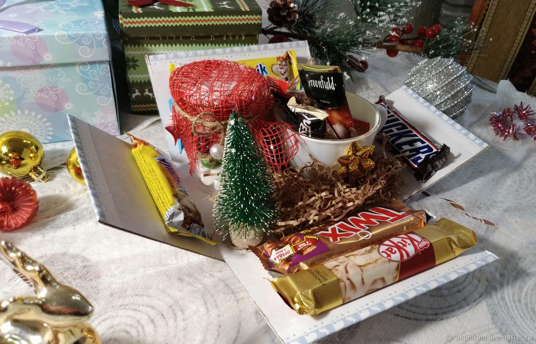 Новогодняя коробочка с сюрпризом, Наборы, Ижевск,  Фото №1