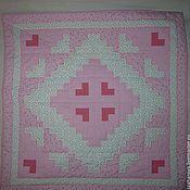 Для дома и интерьера handmade. Livemaster - original item Quilt for girl